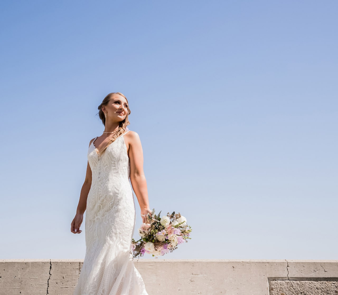 Buying and reselling a pre-owned wedding dress
